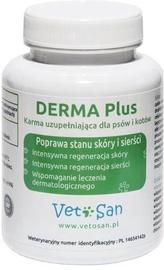 Витамины Vetosan Derma Plus, 0.06 кг, 60 pcs