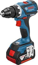 Bosch GSR 18 V-EC Cordless Drill with 2 Batteries
