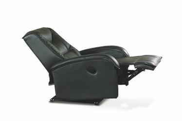 Fotelis Jeff, juodas