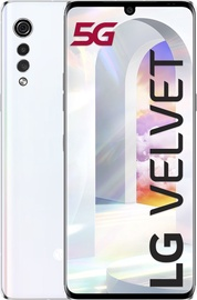 Mobilusis telefonas LG Velvet 5G Aurora White, 128 GB