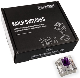 Glorious PC Gaming Race Kailh Pro Purple Switches 120pcs