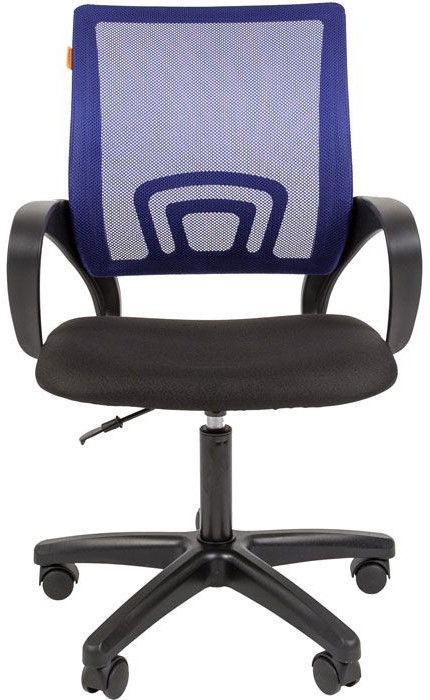 Офисный стул Chairman, синий/черный