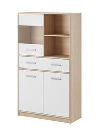WIPMEB Tulia 1W 3D 1S Chest Of Drawers Sonoma Oak/White