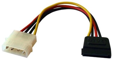 ART Cable Molex to SATAx2 0.2m