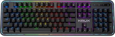 Žaidimų klaviatūra Krux Comet RGB Outemu Brown EN