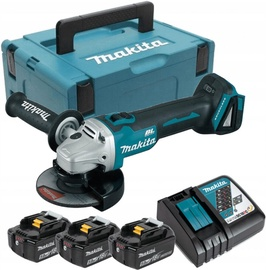 Makita DGA504RT3J Cordless Angle Grinder Set