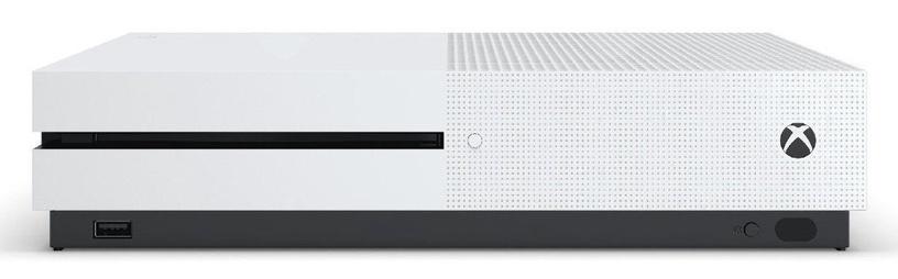 Microsoft Xbox One S 1TB White + Wireless Controller