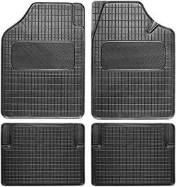 Carmotion Car Rubber Mats 2 Black