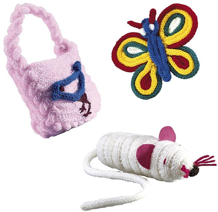 Kūrybinis mezgimo rinkinys SES Creative Children's French Knitting Kit 00862