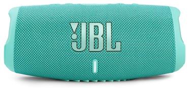 Беспроводной динамик JBL JBLCHARGE5TEAL, зеленоватый, 40 Вт