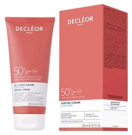 Солнцезащитный крем Decleor Aloe Vera SPF50, 200 мл
