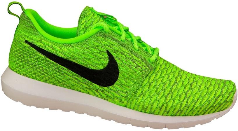 Nike Running Shoes Roshe NM Flyknit 677243-700 Green 44.5