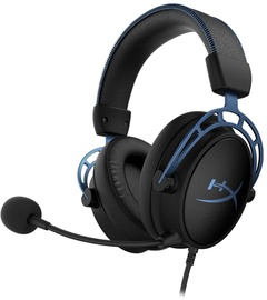 Ausinės Kingston HyperX Cloud Alpha S Black/Blue