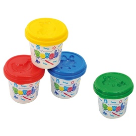 Playgo Dough Pack Basic Color 4pcs 8604