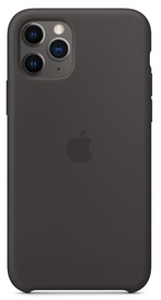 Apple Silicone Back Case For Apple iPhone 11 Pro Black