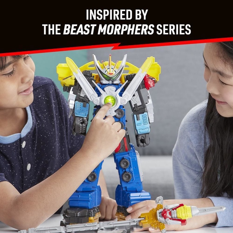 Фигурка-игрушка Hasbro Power Rangers Beast Morphers Beast-X Ultrazord E5894