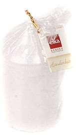 Eika Pillar Candle 13x7cm White