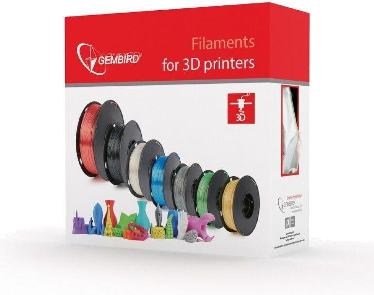 Расходные материалы для 3D принтера Gembird 3DP-ABS, 400 м, фиолетовый