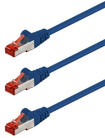 Goobay CAT 6 S/FTP PiMF Patch Cable 5m Blue