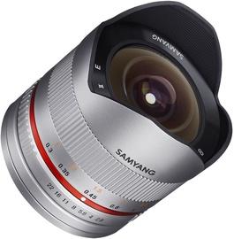 Samyang 8mm F2.8 UMC Fish-eye II For Samsung NX Silver