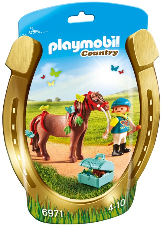 Playmobil Country Groomer With Butterfly Pony 6971