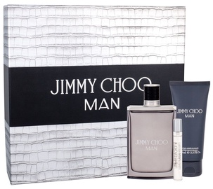 Набор для мужчин Jimmy Choo Man 100 ml EDT + 100 ml After Shave Balm + 7.5 ml EDT