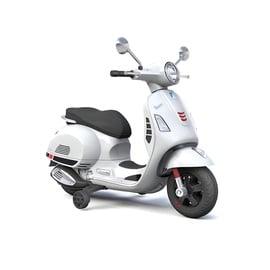 Žaislinis motoroleris Vespa 801, baltas