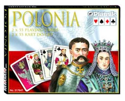 Stalo žaidimas Piatnik Lux Cards Polonia