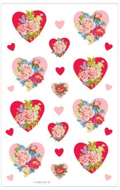 Herlitz Stickers Roses In Hearts