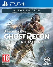 Tom Clancy's Ghost Recon Breakpoint Auroa Edition incl. Sacred Land Pack PS4