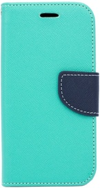Telone Fancy Diary Bookstand Case For Apple iPhone 7 Plus Light Blue/Blue