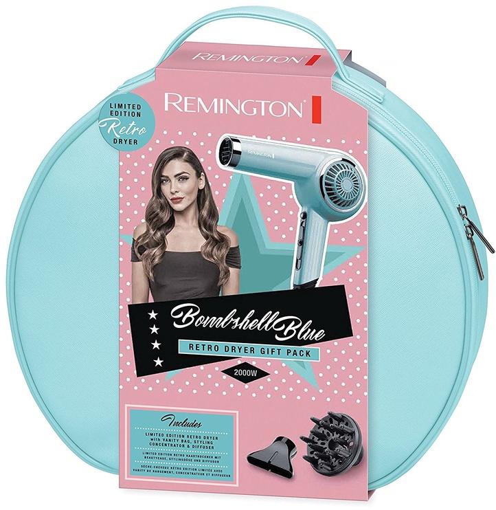 Plaukų džiovintuvas Remington Bombshell Blue Retro D4110OB
