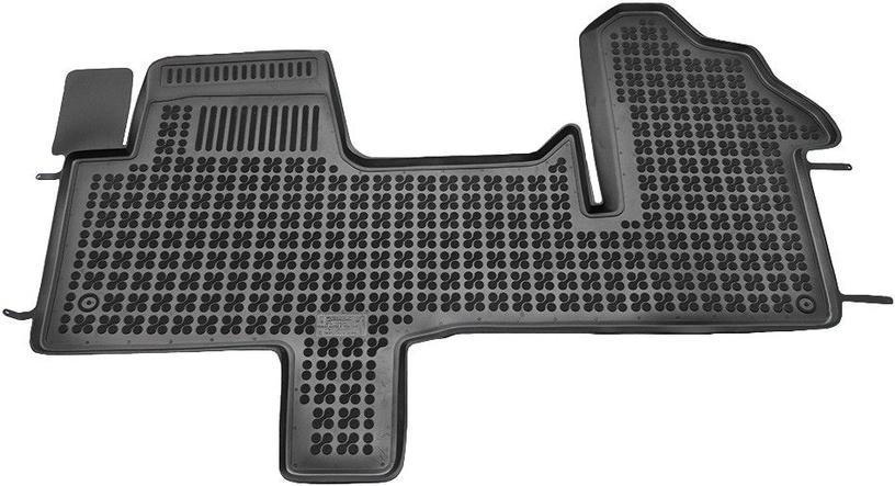 Резиновый автомобильный коврик REZAW-PLAST Renault Master III 2010 Front, 1 шт.