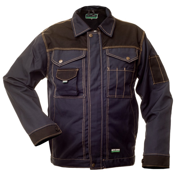 Baltic Canvas Working Jacket CAN-0107 Blue 60