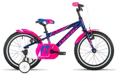 """Vaikiškas dviratis Drag Alpha 16"""" Blue/Pink 20"""
