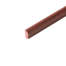 Vidinis apdailos kampas CBI13/346, raudonmedžio, 1,3 x 270 cm