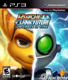 Игра для PlayStation 3 (PS3) Ratchet And Clank: A Crack In Time PS3