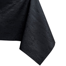 Скатерть AmeliaHome Vesta, черный, 5500 мм x 1500 мм