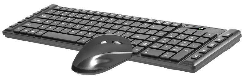 Klaviatūra ir pelė Tracer Octavia II Nano USB