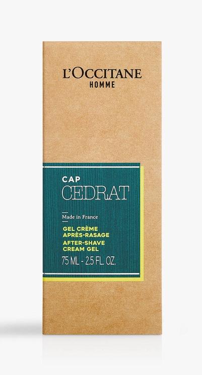 L´Occitane Cap Cedrat After Shave Cream Gel 75ml