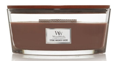 WoodWick Stone Washed Suede Candle 453.6g