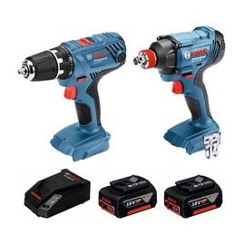 Bosch GSR 18V-21 + GDX 18V-180 Cordless Tool Set
