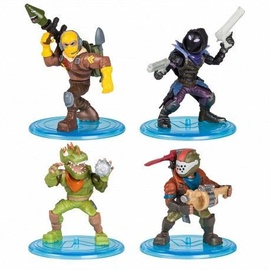 Epic Games Fortnite: Battle Royale Collection - Action Mini Figure Pack incl. Raptor/Rust Lord/Rex and Raven