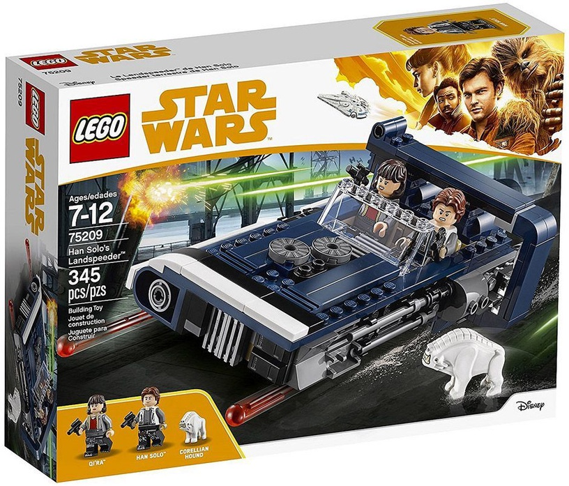 Konstruktor LEGO Star Wars Han Solo's Landspeeder 75209