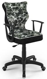 Детский стул Entelo Norm Size 5 ST33, черный, 370 мм x 1010 мм