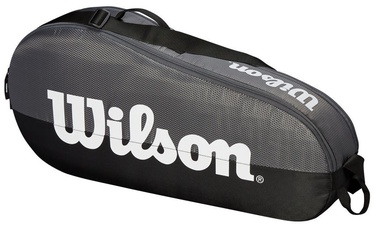 Wilson Team 1 Compartment Small Bag Grey/Black