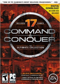 Command And Conquer The Ultimate Collection 17 Games DLC PC