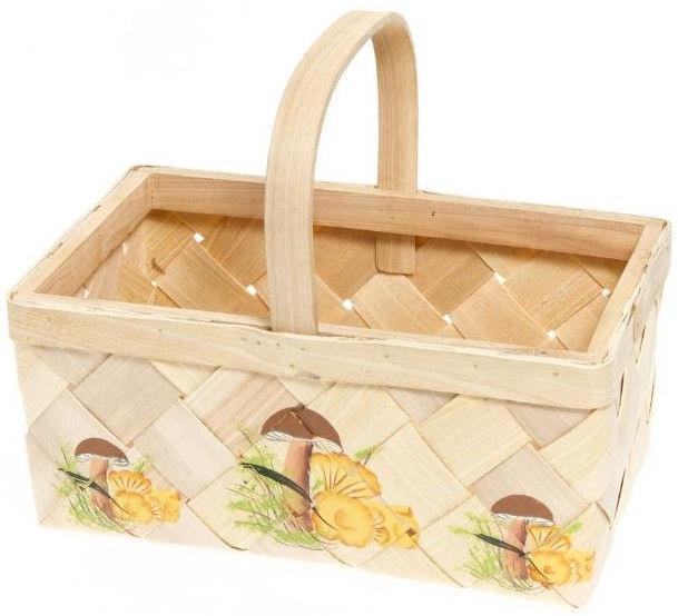 Verners Wood Basket 21x33