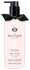 The English Bathing Company Boutique Body Lotion 500ml Velvet Rose & Sandalwood