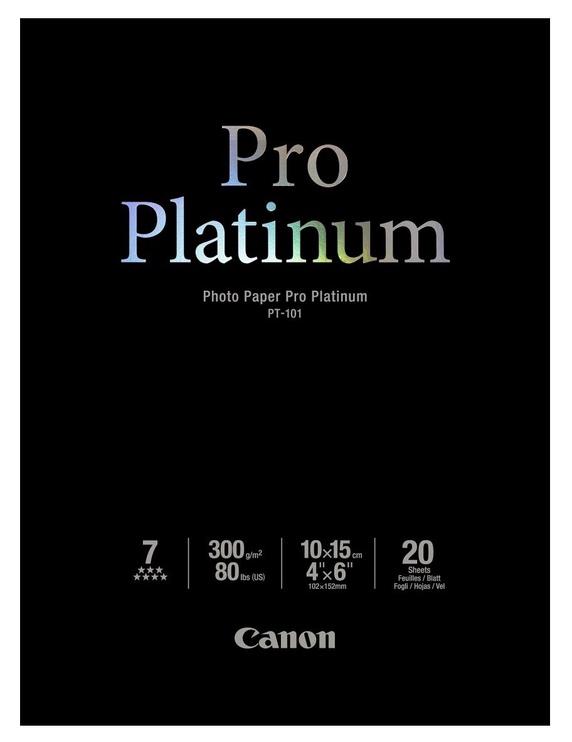Canon PT-101 Pro Platinum 10x15 Glossy 20